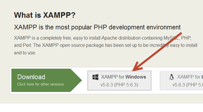 Cara Menginstall XAMPP di Windows - Download XAMPP 5.6.3