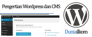 Tutorial Belajar WordPress - Pengertian WordPress dan CMS