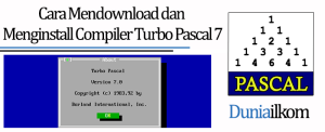 Tutorial Belajar Pascal - Cara Mendownload dan Menginstall Compiler Turbo Pascal 7
