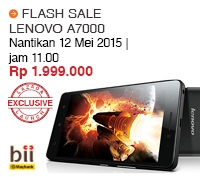 Flash Sale Lenovo A7000 Indonesia