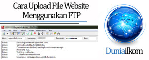 Tutorial Membuat Web Online - Cara Upload File Website Menggunakan FTP