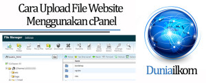 Tutorial Membuat Web Online - Cara Upload File Website Menggunakan cPanel