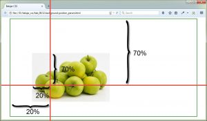 CSS Uncover - background-position percent
