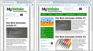 Responsive Layout Project CSS Uncover