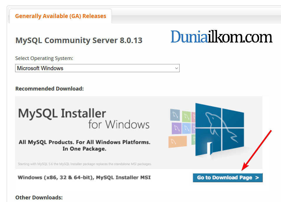 Download MySQL 8.0