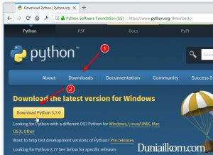 Link Download Installer Python
